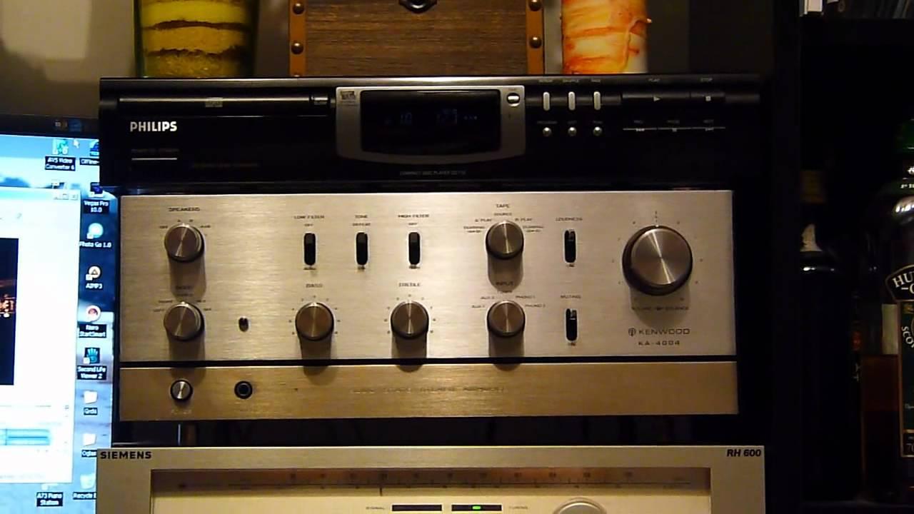 Vintage Kenwood Ka Amplifier In Action Part I