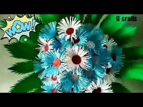 Paper flower bouquet//Paper craft//DIY paper flower//Easy paper flower bouquet//simple craft//Easy c