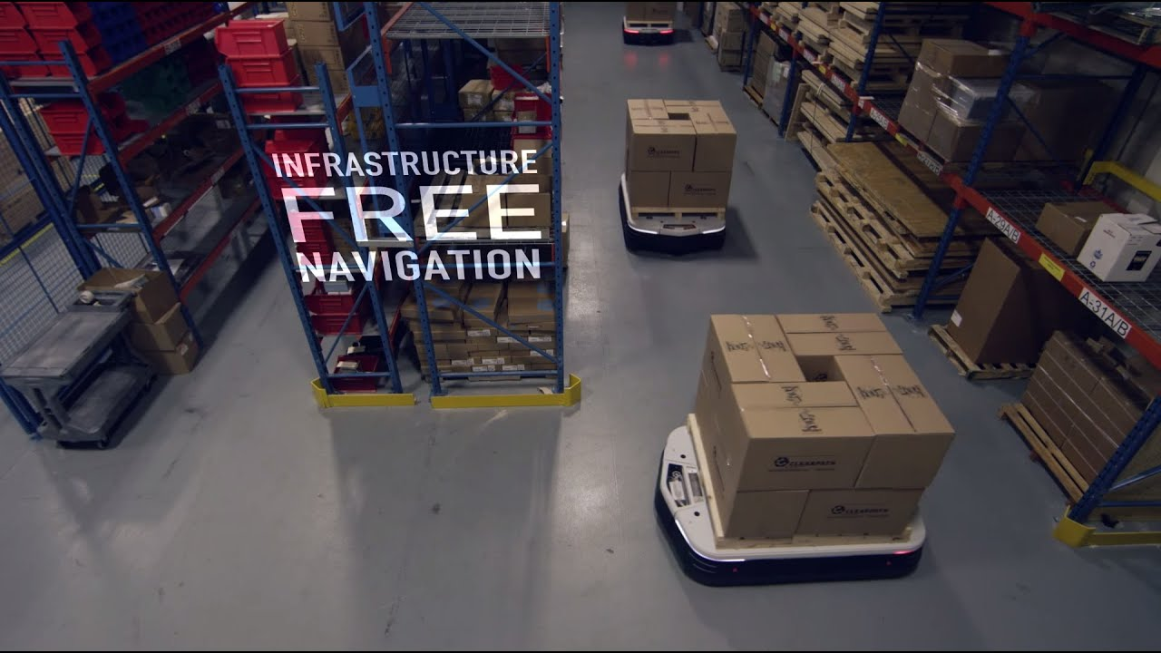 OTTO - Self-Driving Vehicles for Industry