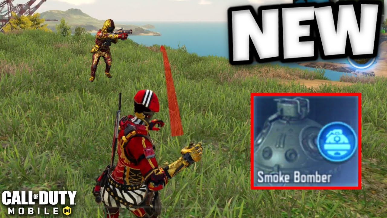 *NEW* SMOKE BOMBER Class in Call of Duty Mobile! | Season 7 Update Test Server!