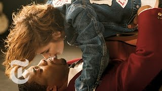 Chadwick Boseman & Kristen Stewart | Great Performers: 9 Kisses | The New York Times