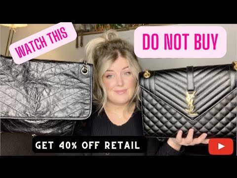 DO NOT BUY!! Without Watching This Video First /  REVIEW !! Saint Laurent Bag Comparison