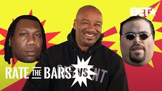 Will Big Tigger Name KRS-1 Or Big Pun King Of The Bronx? | #RateTheBarsVS