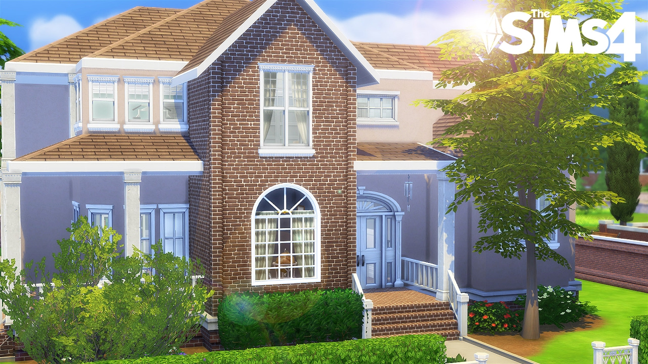 american house construction sims 4 youtube