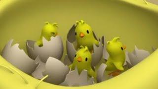 МУСТИ - лучшие мультфильмы - Прибавление в Семействе - развивающие мультики для самых маленьких