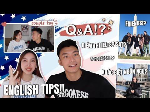 English Speaking Vlog - Du Học, IELTS, TOEFL, Scholarships... | TIEN LE