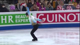Yuzuru Hanyu, 2016 World Championship, SP BES-Commentator: Mark Han...
