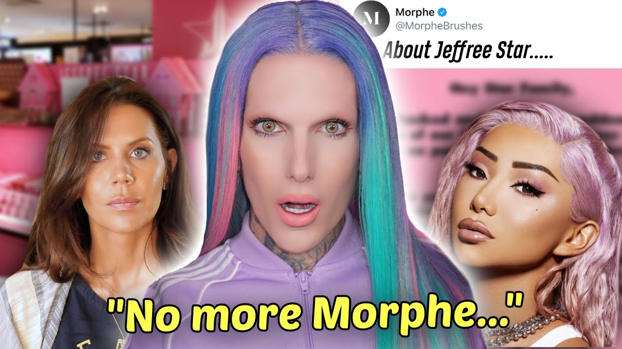Jeffree Star DROPPED by Morphe over THIS (yikes)