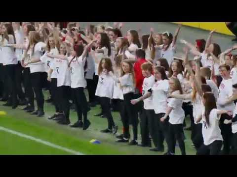 Dance Performance with Pro-Excel at Twickenham Stadium - in 4K UHD