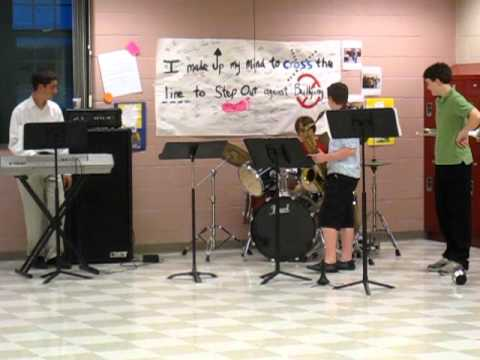 """Frankenstein"" as played by the Frank Ward Strong School Combo Band"