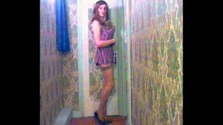 Repeat youtube video Sabryna t-girl with hot short dress