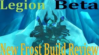 Legion Beta Frost DK PvP - New Build Review - Nerf is Painful