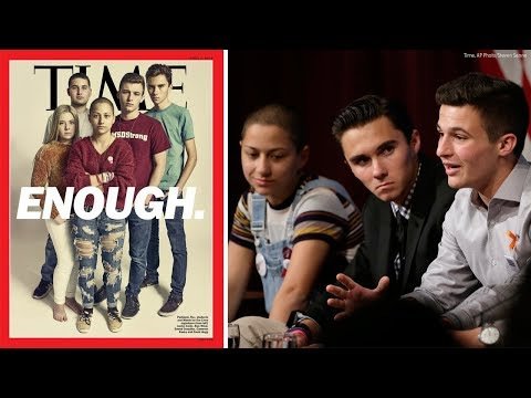 Parkland survivors appear on Time magazine cover ahead of March for Our Lives
