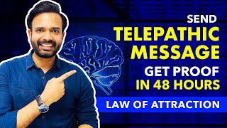 100% TELEPATHY ✅ Send A TELEPATHIC MESSAGE To Anyone and Get Proof in 48 Hours. Law of Attraction