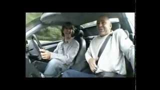 Damon Hill driving Mercedes AMG SL55