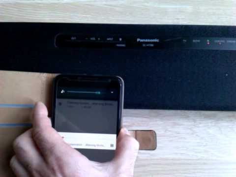 Panasonic sc-htb8 - YouTube