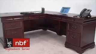 Traditional Office Furniture | Nbf Pont Lafayette Collection | National Business Furniture