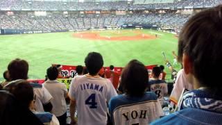 2014年9月6日に京セラドームで開催された、日本ハムvsオリックスにて、6...