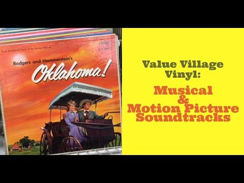 Thrift Store Vinyl -  Musical and Motion Picture Soundtracks
