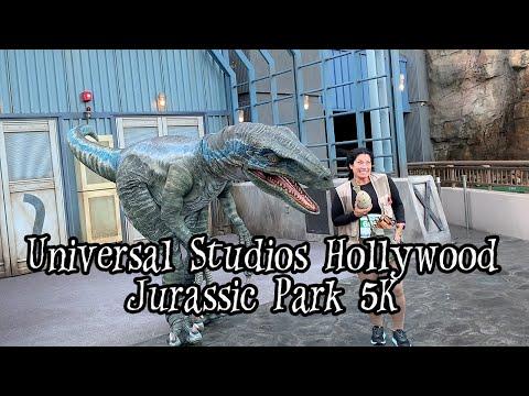 Creepy Quest: Jurassic Park 5k at Universal Studios Hollywood