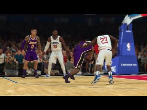 NBA 2K19 MyCareer Crazy Dunk vs Clippers