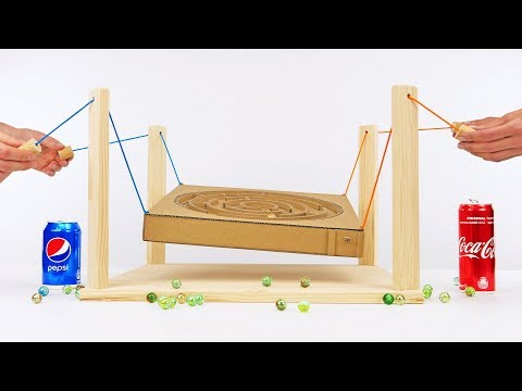 DIY Amazing Maze Team Game