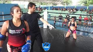 TV THAI | Larissa ( Team Mascote ) vs Mariana ( Show Thai ) RMFC 09