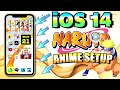 iOS 14 Anime Home Screen Setup NARUTO FREE Customization - ANIME How To *Widgets and App iCons*