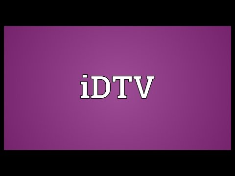 IDTV Meaning