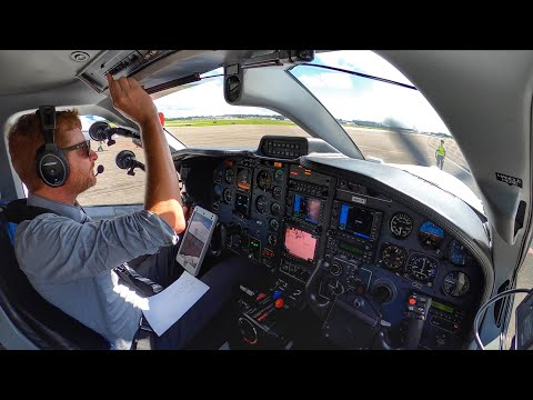 THE TAMPA SHUFFLE! - BUSY IFR Flight VLOG