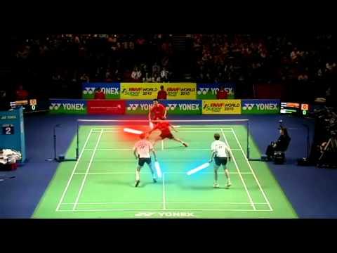 Badminton like a nerd