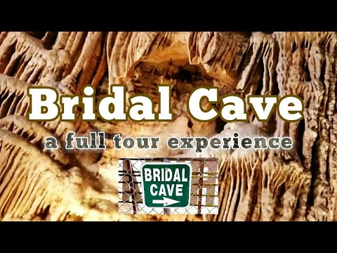 BRIDAL CAVE - a Full Tour Experience | w/ Tour Guide Commentary