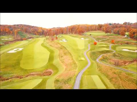 LedgeRock Golf Club Flyover 11 8 2017