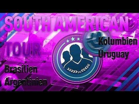 Fifa 17  Süd America Tour (South American Tour) Billige Lösung Squad Builder Challenge  Deutsch