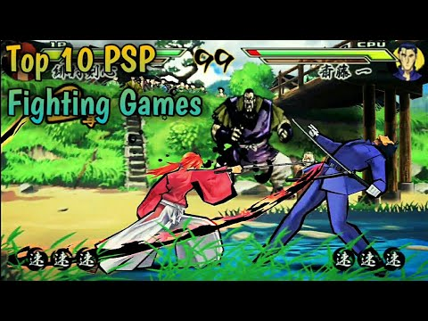 Top 10 Psp Fighting Games Ppsspp Android Youtube