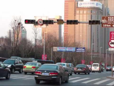 China traffic light timer - CRAZY