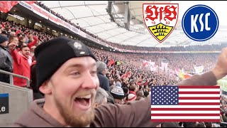 AMERICAN at GERMAN SOCCER DERBY!! *VfB vs KSC 2019* (@itsConnerSully)