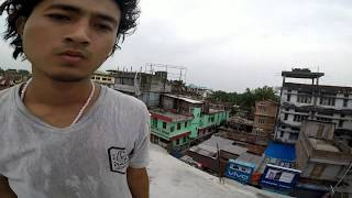 Crazy Rooftop Parkour in India | Kokrajhar Town | Swrang Narzary