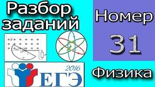 ЕГЭ по Физике 2016! Задание №31. ЭДС Индукции и Мощность.