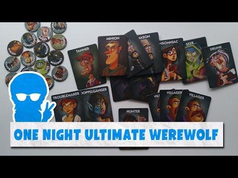 Полка С Настолками: One Night Ultimate Werewolf