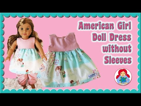 How To | Doll Dress For 18