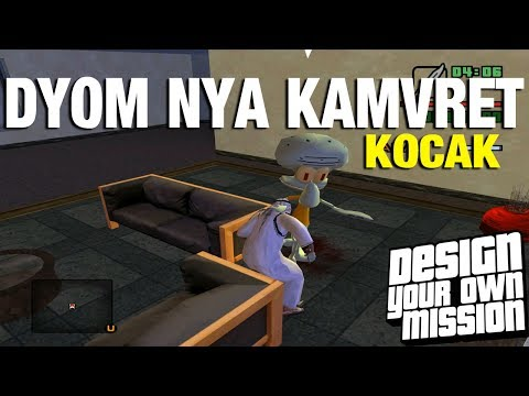 Dyom Paling Lucu ,Pak haji menangkap squidward GTA EXTREAM (DYOM)