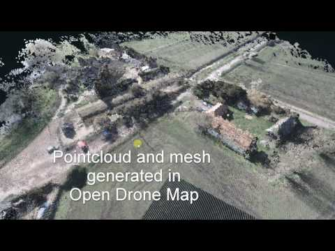 Drone Mapping - 3D Files with Typhoon H