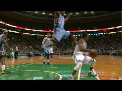 Rondo Fakes Tony Allen Out of the Building