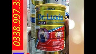 Sữa bột Nutifood DR.Luxia PEDIA 900g dành cho trẻ biến ăn
