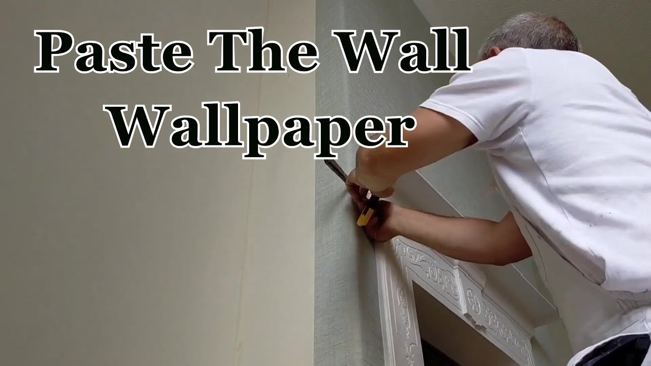 Paste The Wall / Wallpapers And Victorian Cast Iron Fire Surround