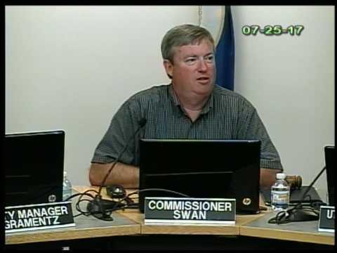 July 25, 2017 Public Utilities Commission