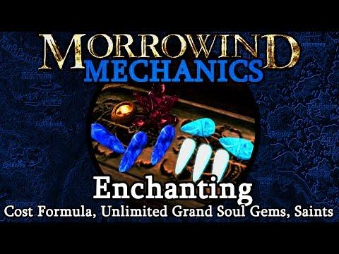 Enchanting - Morrowind Mechanics