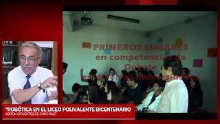 3°Sesión Mesa Robotica impacto en educación: expone Liceo Abdón Cifuentes