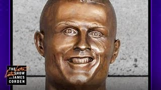 What Is Up with This Cristiano Ronaldo Statue?